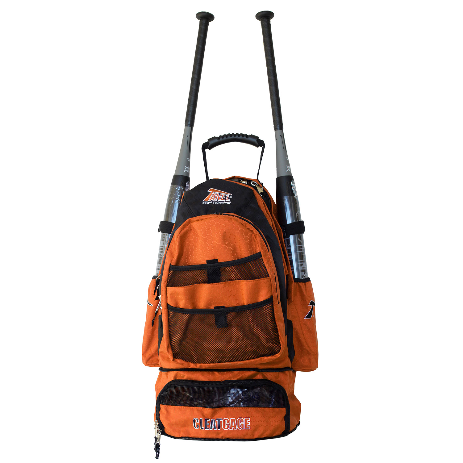 Tanel 360 BatPack Baseball/Softball Backpack Bag