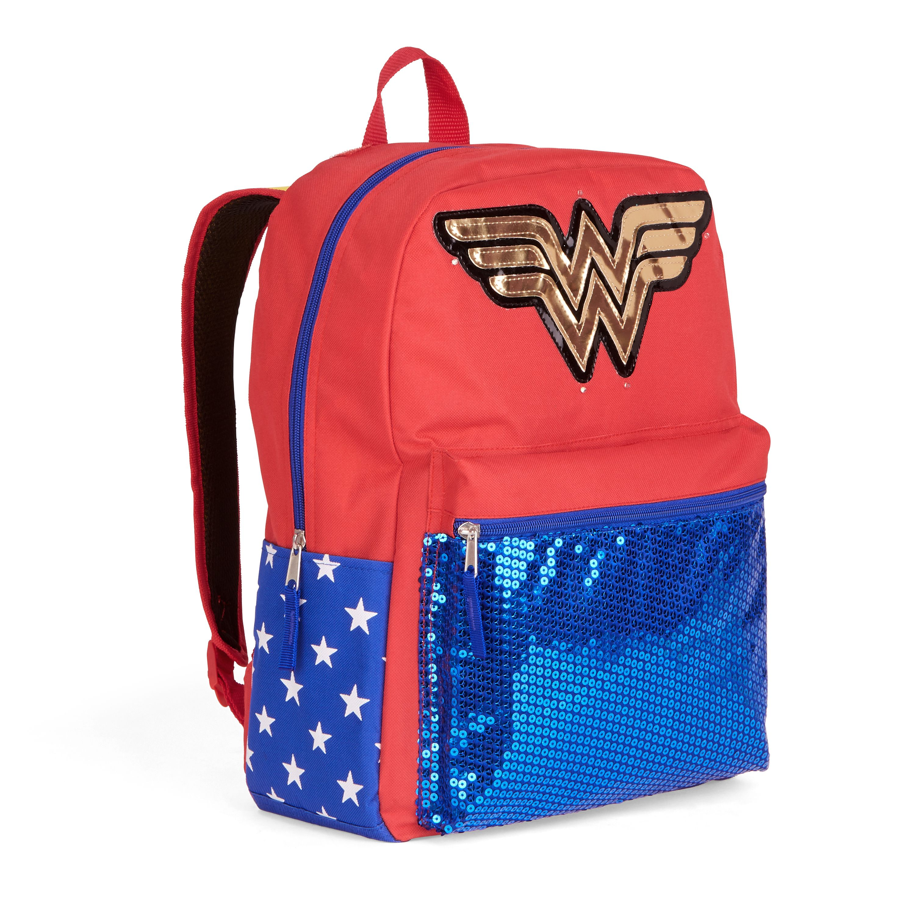 Wonder Woman Superlights Backpack w/ Detachable Cape