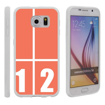 Slim Track - Samsung Galaxy S6 G920, Flexible Case [FLEX FORCE] Slim Durable TPU Sleek Bumper with Unique Designs - Track Lines