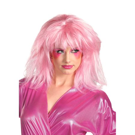 Jem and the Holograms Jem Wig Adult Halloween Accessory