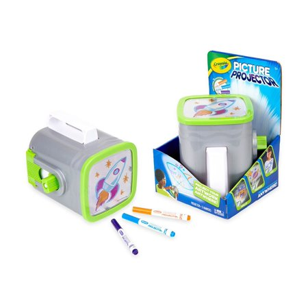 Crayola Night Light Picture Projector, Ages - Crayola Inspiration Art Case