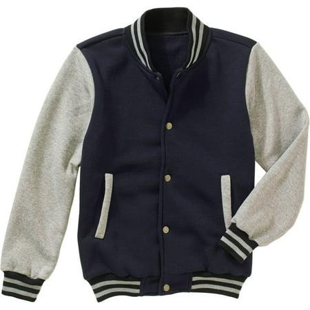 BOCINI Boys' Varsity Jacket