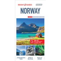 Insight guides travel map norway - folded map: 9781786718716