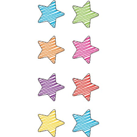 SCRIBBLE STARS MINI STICKERS - Scribble Stars