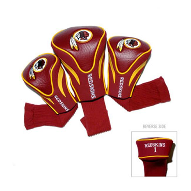 Team Golf 33194 Washington Redskins 3 Pack Contour Fit Headcover