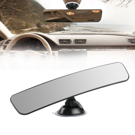 Rear View Mirror, Universal Car Truck Mirror Interior Rear View Mirror Suction Cup Rearview Windshield Window Mirror Custom Inside Rear View Mirror