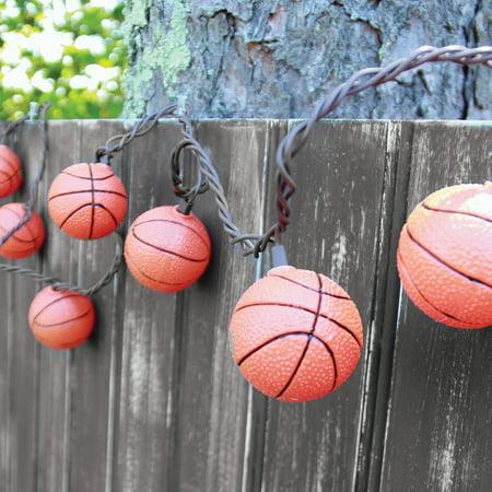 Dennis East International Basketball String Lights](Basketball Light)