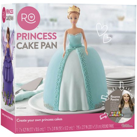 Rosanna Pansino by Wilton Princess Pan Baking Set, (Wilton Baking Basics)