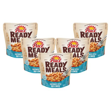 (5 Pack) Pace Ready Meals Southwest Style Mac & Cheese, 9 oz.