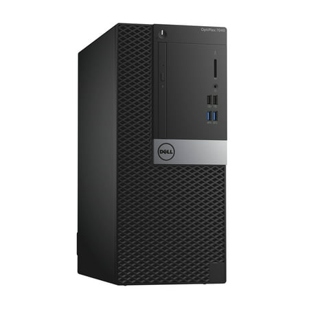 Dell OptiPlex 7040, Minitower, Intel Core i7-6700 up to 4.00 GHz, 16GB DDR3, NEW 1TB SSD, DVD-RW, No Operating System - image 3 de 3