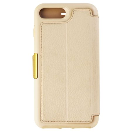 separation shoes 35bd4 396c3 OtterBox Strada Leather Folio Case for iPhone 8 Plus/7 Plus - Soft  Opal/Beige