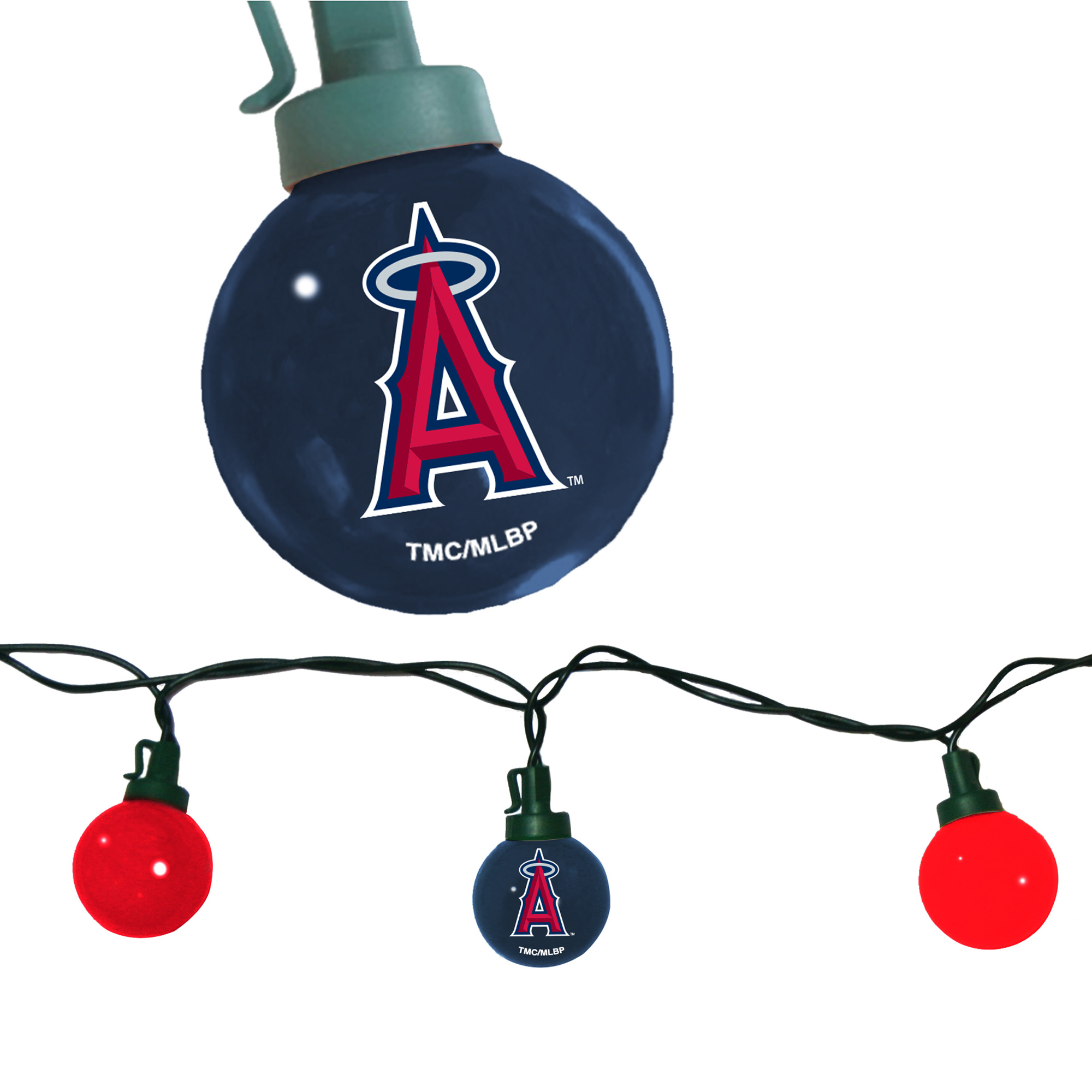 Los Angeles Angels 8' Team Tailgate String Lights - No Size