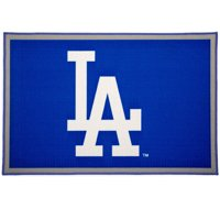 MLB Los Angeles Dodgers Soft Area Rug with Non-Slip Backing by Delta Children