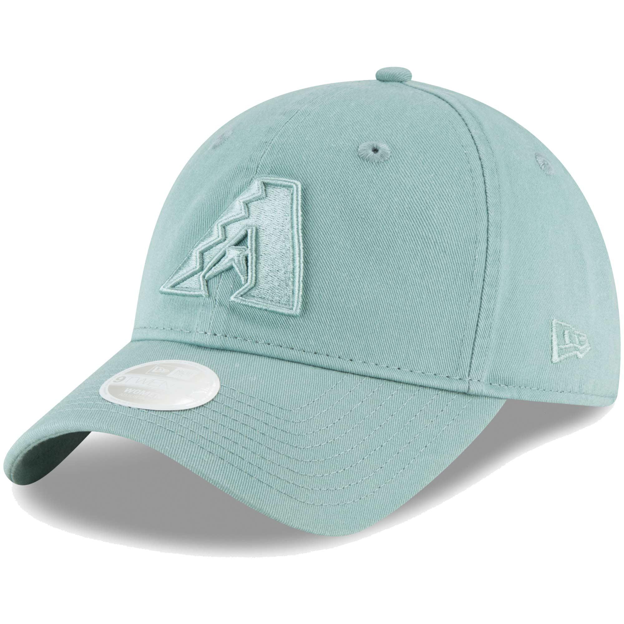 Arizona Diamondbacks New Era Women's Core Classic Twill 9TWENTY Adjustable Hat - Light Blue - OSFA