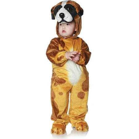 Saint Bernard Dog Toddler Costume