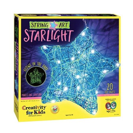 String Art Starlight - Craft Kit by Creativity for Kids - Art And Craft Ideas For Kids