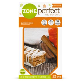 ZonePerfect Nutrition Snack Bars Pumpkin Spice 10g Protein 12 Ct