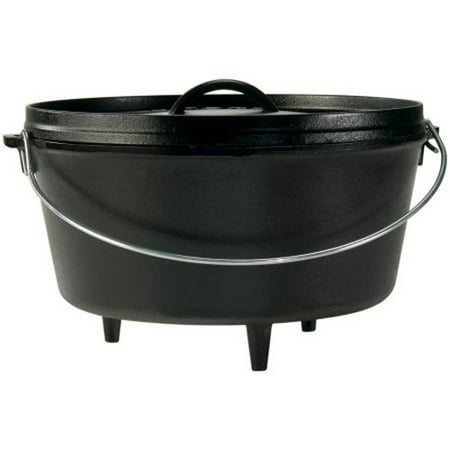 "Lodge 12"" 8-Qt Cast Iron Dutch Oven D12Dco3"