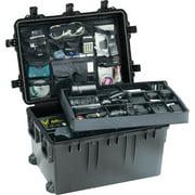 Pelican iM3075 Case with Wheels, Watertight, Padlockable Case, No Foam or Divider Interior, Black