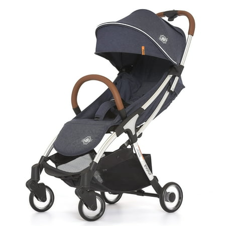 Denim Stroller (Evolur Vogue Stroller, Denim)