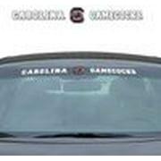 "South Carolina Gamecocks DECAL - Windshield 35""x4"""