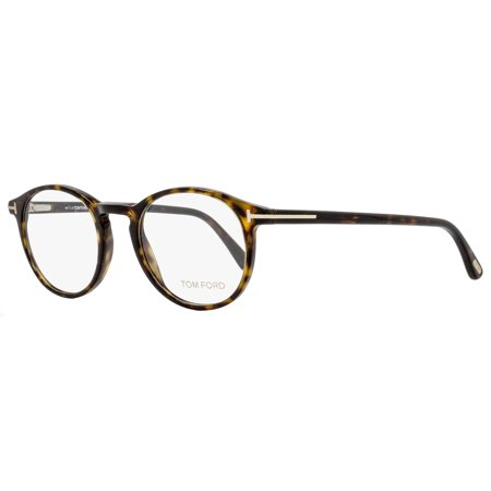 05c5096b65 Tom Ford Oval Eyeglasses TF5294 052 Size  48mm Shiny Havana FT5294 -  Walmart.com
