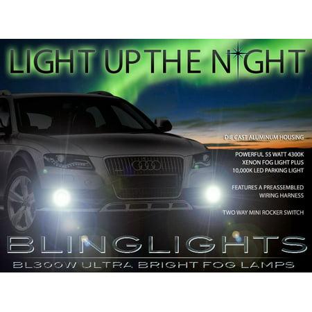 2009 2010 2011 2012 Audi A4 Xenon Fog Lamps Driving Lights B8 Foglamps Foglights