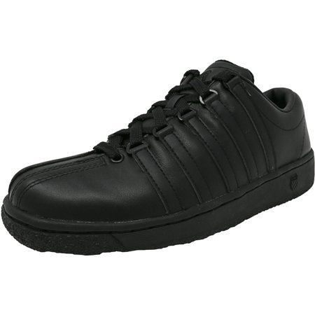 K-Swiss Men's Classic Luxury Edition Black / Leather Fashion Sneaker -