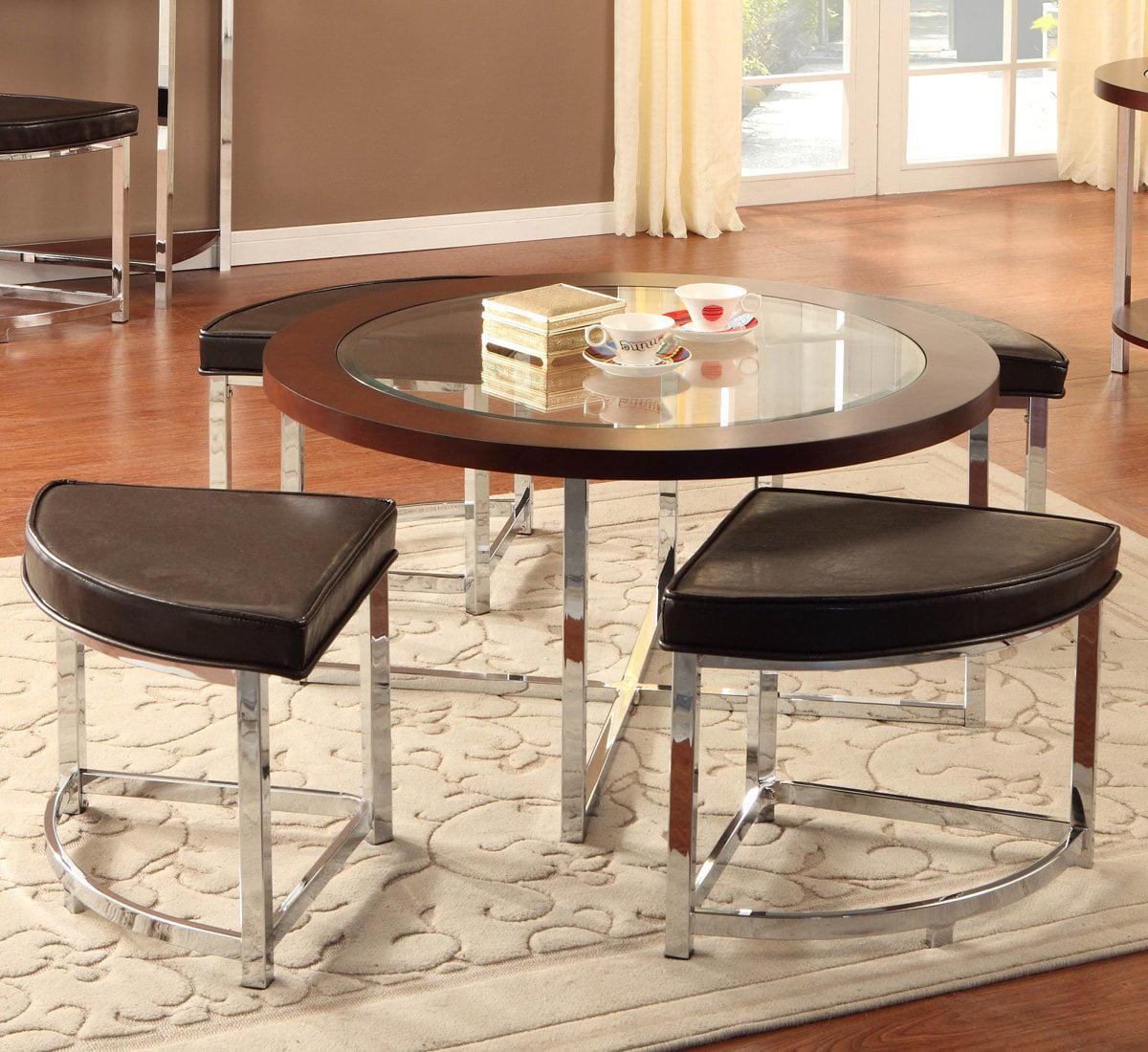 Woodbridge Home Designs Maine Coffee Table with Ottoman