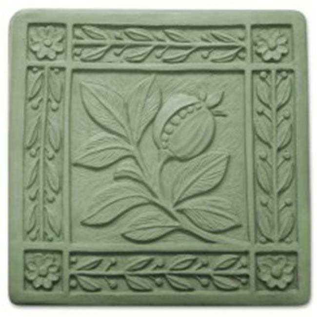 Garden Molds X-ARTN8055 Art Nouveau Tile Stepping Stone Mold Pack of 2 by Garden Molds