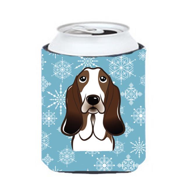 Snowflake Basset Hound Can & Bottle Hugger - image 1 de 1