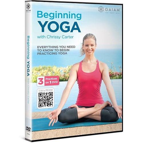 Beginning Yoga With Chrissy Carter by GAIAM INC