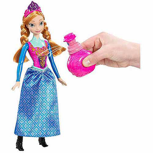 Disney Frozen Royal Color Change Anna Doll by Mattel