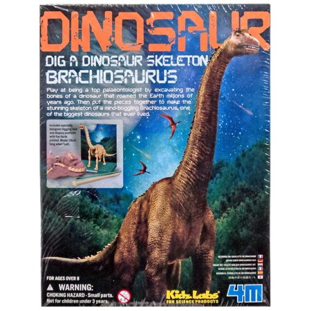Science Lab System - Kidz Labs Dig a Dinosaur Skeleton Brachiosaurus