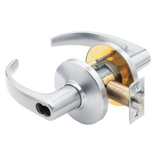 BEST 9K37D14CS3626 Hvy Duty Lvr Lockset, Curved Return Lever