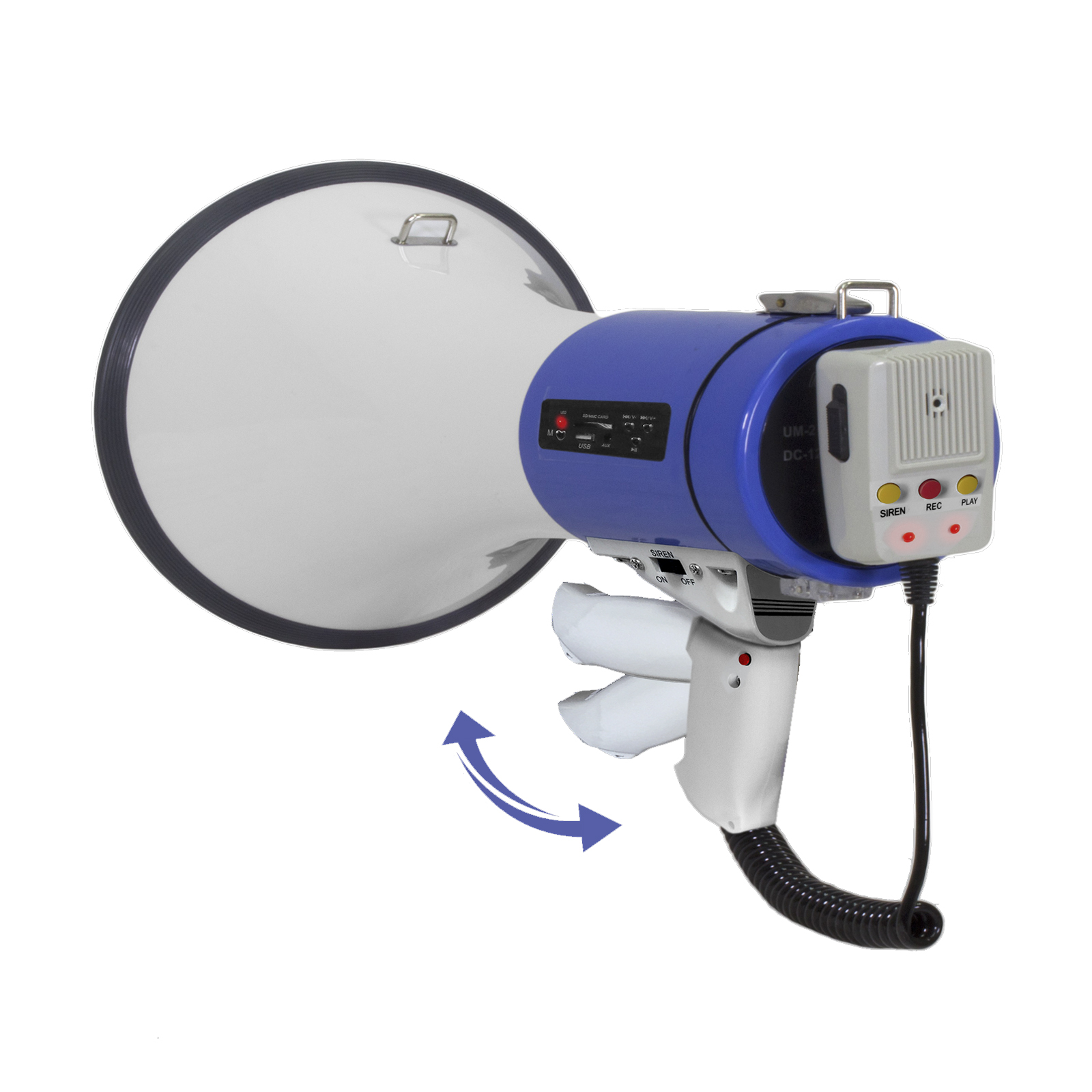 Technical Pro Megaphone With Siren and USB/SD Input