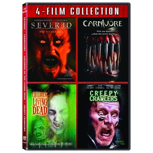 New Market Horror: Quad Three - Severed / Carnivore / Children Of The Living Dead / Creepy Crawlers (Full Frame)