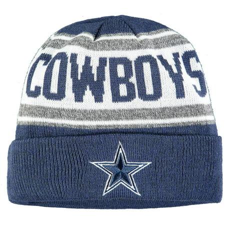 Dallas Cowboys New Era Toddler Stated Cuffed Knit Hat - Navy - OSFA
