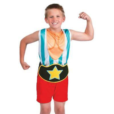 IN-13743688 Boy's Muscle Man Suit Costume