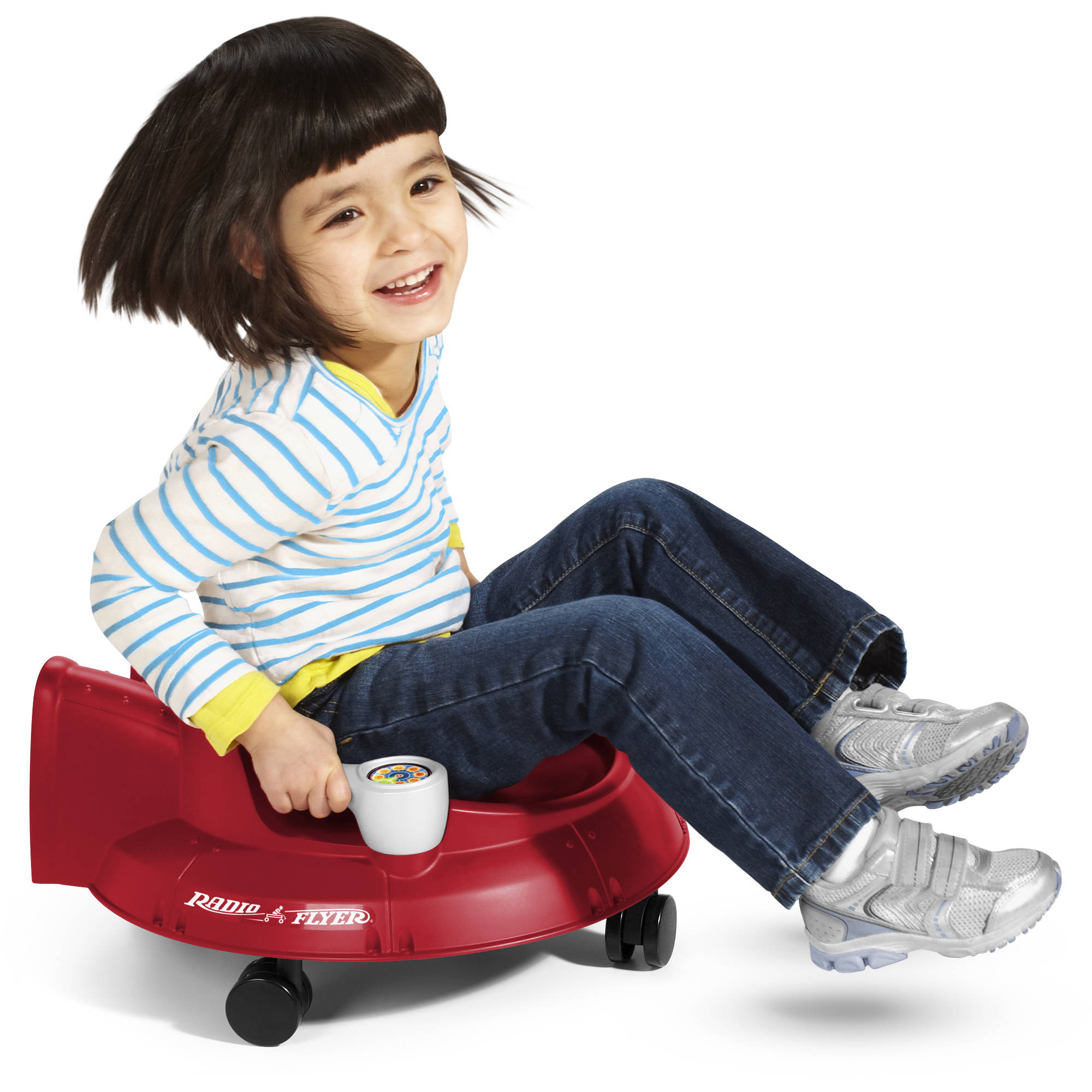 Radio Flyer Spin 'N' Saucer, Red