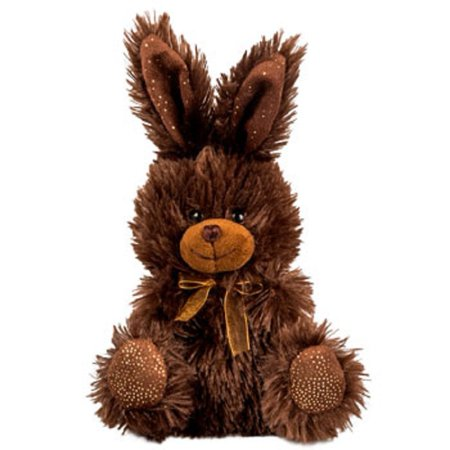 Chocolate-Scented Plush Stuffed Easter Bunny Rabbit with Ribbon 7 in. - BROWN - 1/pkg., 7 in. By Greenbrier International Ship from US](Stuffed Easter Bunnies)