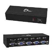 Siig CE-VG0Q11-S1 1x4 VGA Splitter with Audio