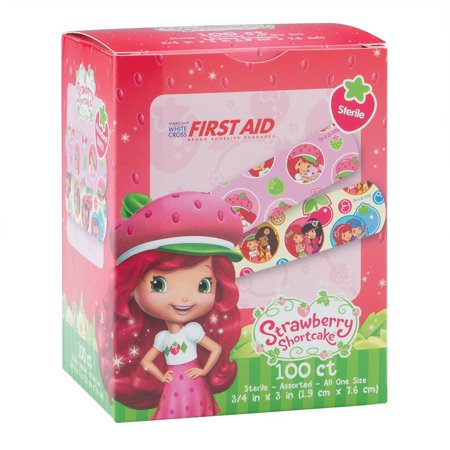 Strawberry Shortcake Bandages - First Aid Supplies - 100 per PackFeaturing Strawberry Shortcake and her friends! Kid-friendly bandage designs are.., By - Strawberry Shortcake And Friends Halloween Costumes