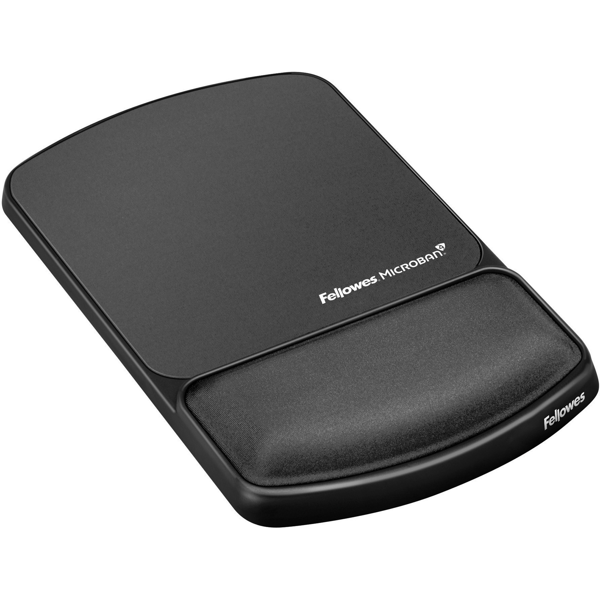 Fellowes, FEL9175101, Mouse Pad / Wrist Support with Microban® Protection, 1, Graphite