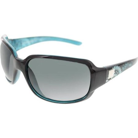 2cab37fbd35 Suncloud Cookie Polarized Sunglass  Black Teal Laser Frame Gray Polarized  Polycarbonate Lenses - Walmart.com