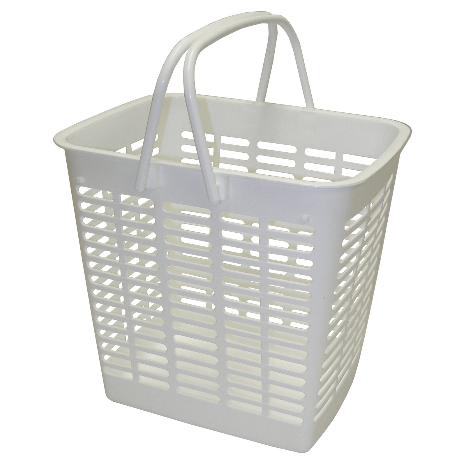 Dial Industries E1210W White Mini Tote Basket