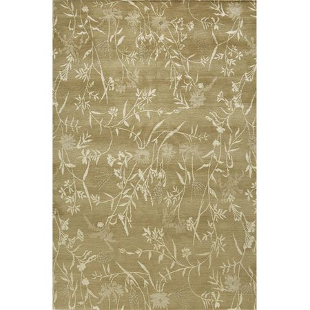 Due Process Stable Trading Empress Spring Straw & Sage Area Rug, 3 x 10 ft. - image 1 of 1