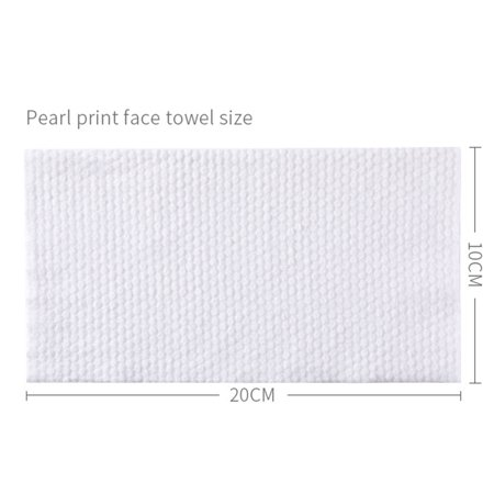 Disposable Face Towel Cotton Fabric Facial Tissue One-Time Makeup Wipes Pads Cleansing Roll Paper Tissue - image 5 of 9