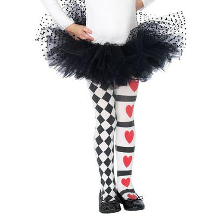 Leg Avenue Children's Wonderland Tights, - Harlequin Tights