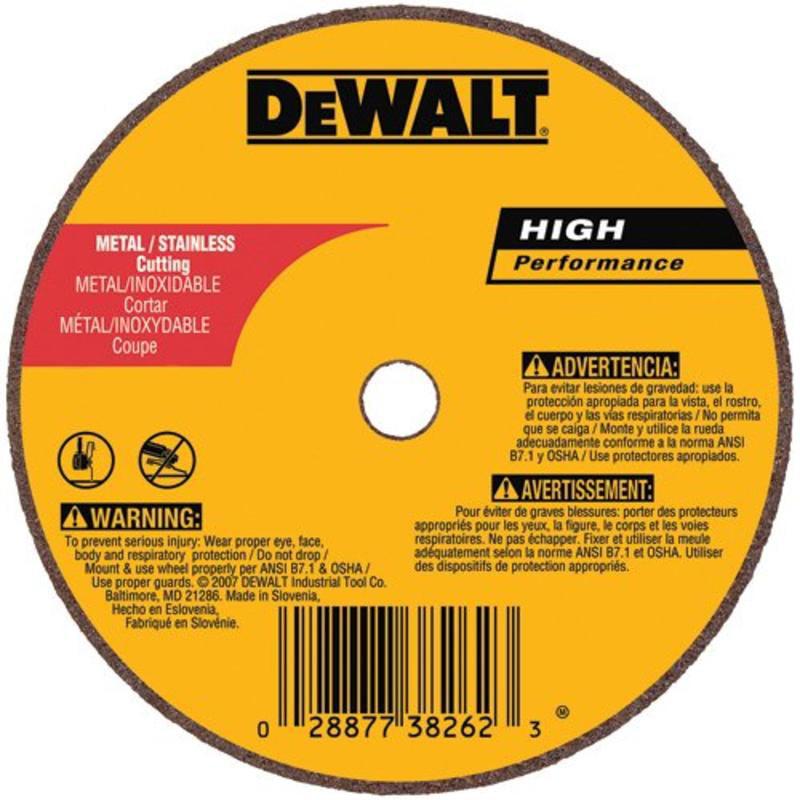 12-Inch X 1//8-Inch X 1-Inch DEWALT DWA8036 Concrete//Masonry Port Cutoff Wheel